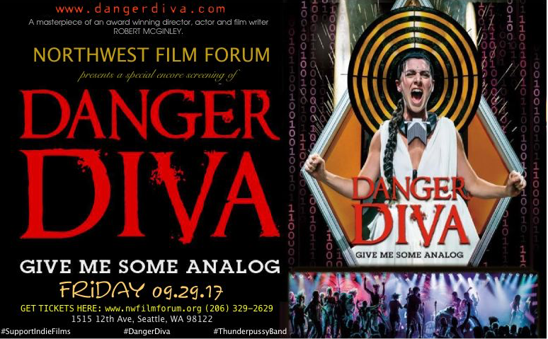 Danger Diva (A special screening at Northwest Film Forum on 09.29.17 9pm PDT)